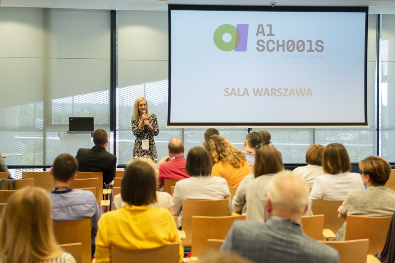 AI Schools program - official announcement during conference