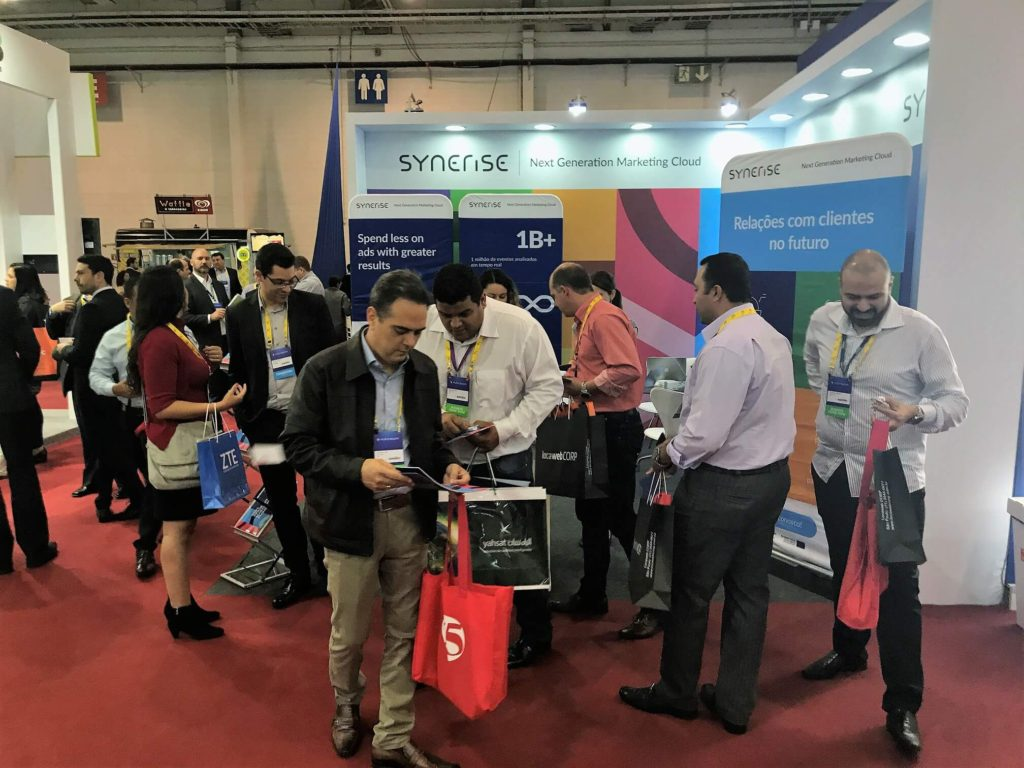 Synerise stand at Futurecom 2017