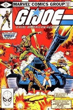 """G.I. Joe"" comic cover"
