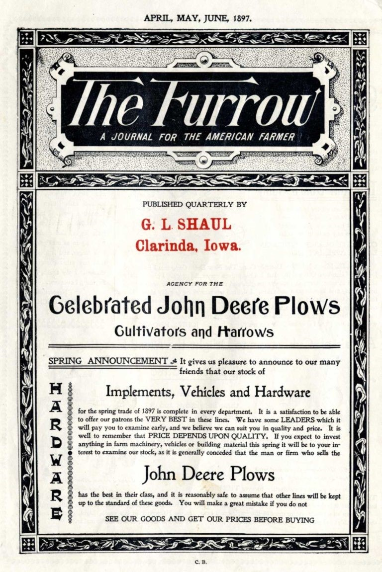 The Furrow Magazine Cover