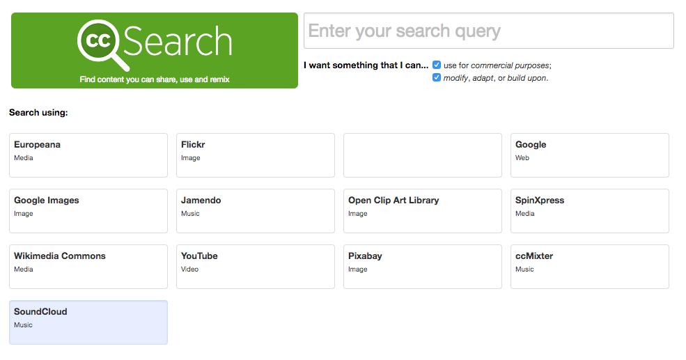 CC search queries