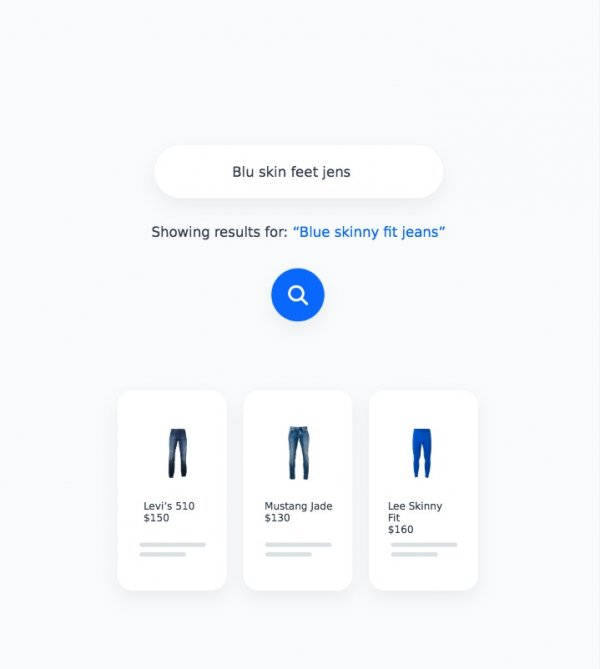 On-site product search answers less precise queries