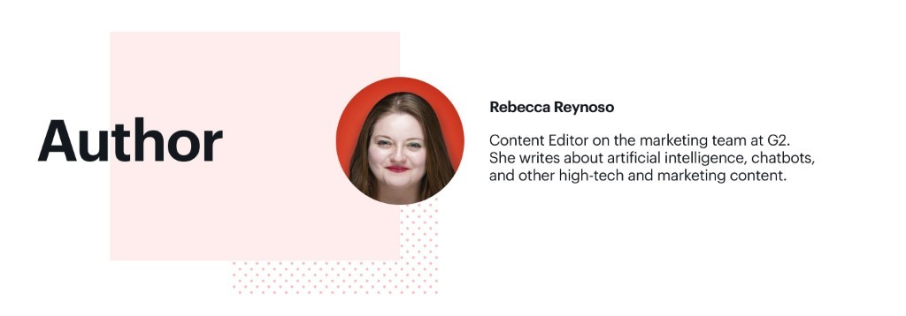 Author of our blog post Rebecca Reynoso
