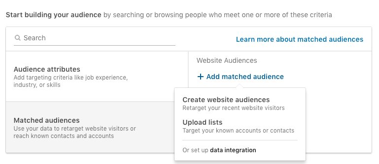 Start building your audience on linkedin step 2
