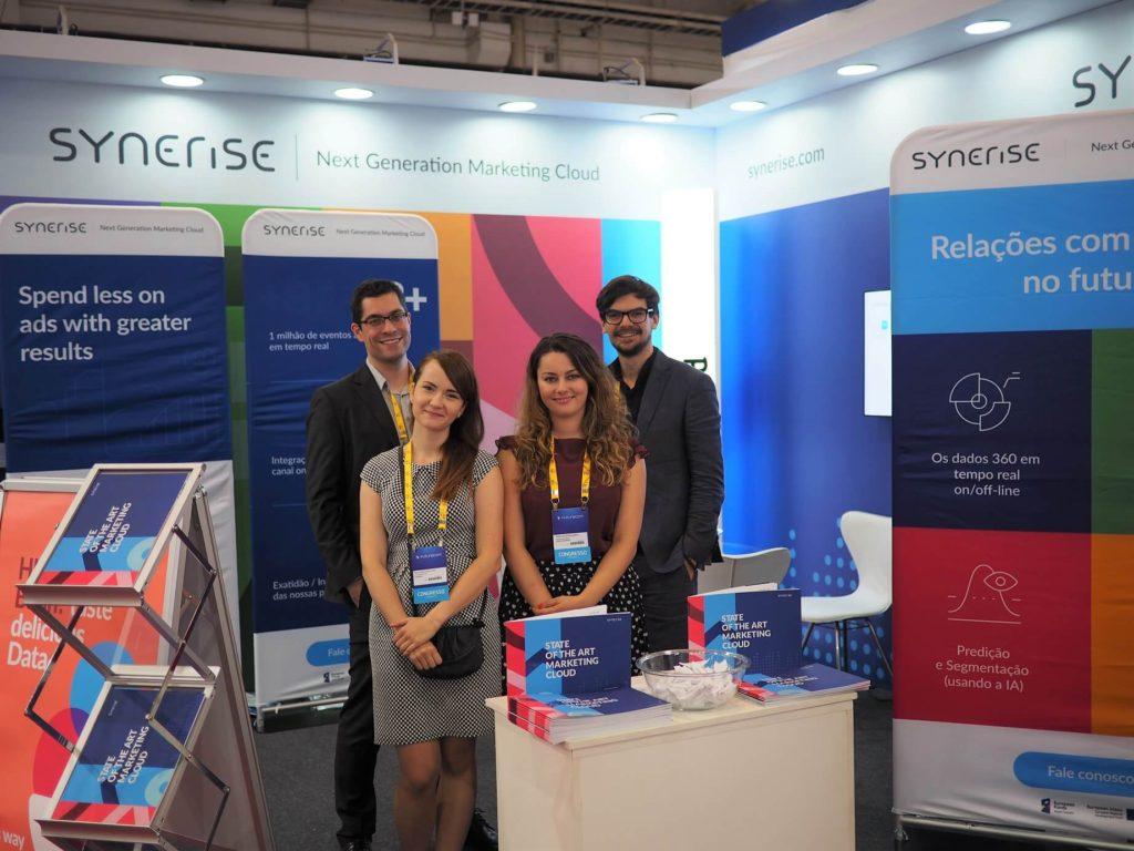 Synerise Team at Futurecom Brazil 2017