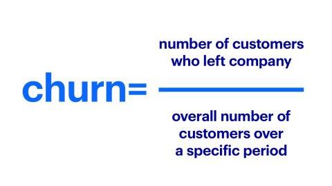 Churn formula explained