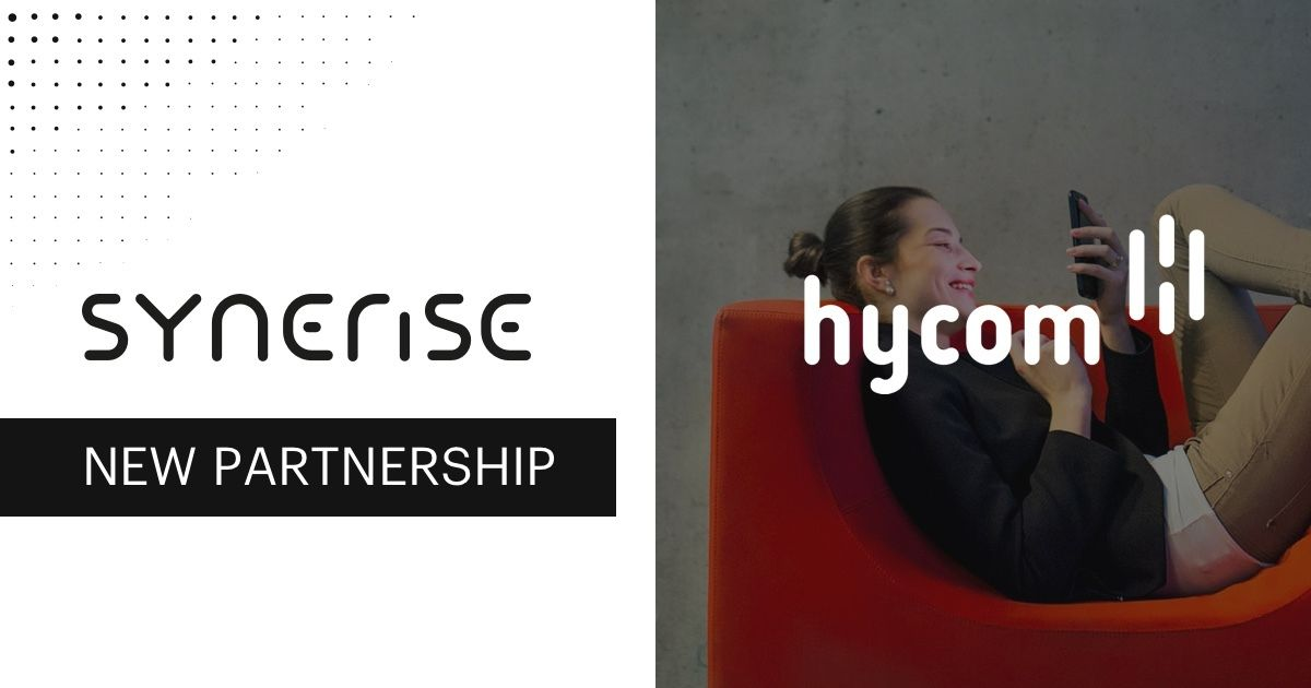 Synerise new partnership hycom  cover photo