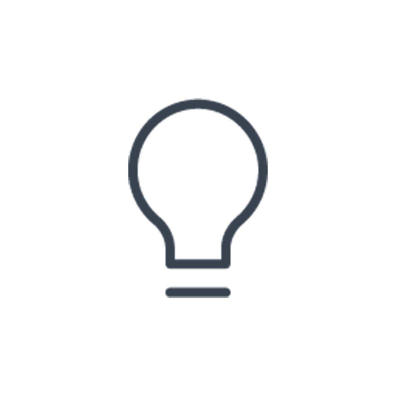 Bulb icon preview